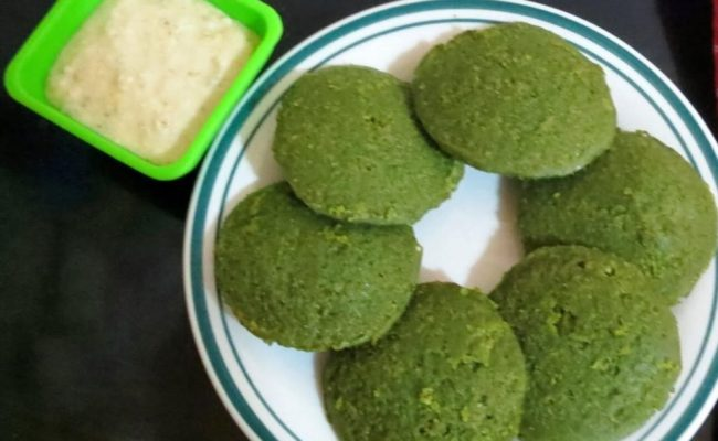 Green Idli recipe
