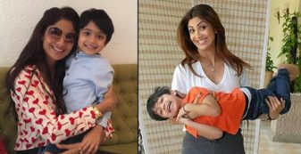 Shilpa Shetty's recent Mom-Son special workout video