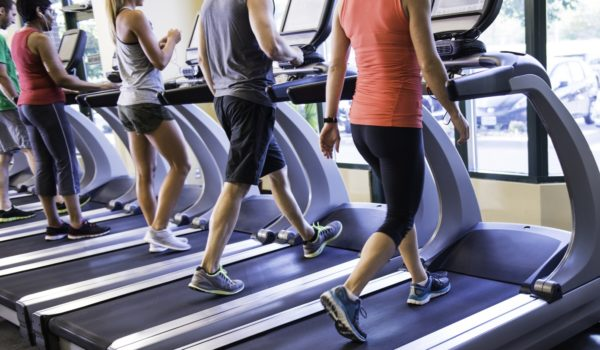 Thoughts we get while we are on the treadmill